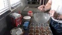 yaourt (yogourt ou yoghourt) maison au four au caramel beurre salé et a la fraise