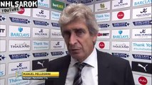Leicester City vs Manchester City 0 - 1 - Manuel Pellegrini post-match interview.