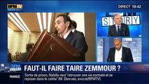 Bannire Eric Zemmour des médias - Dieudonné,Zemmour deux poids,deux mesures