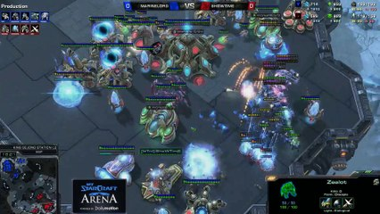 MarineLord (T) vs. ShowTime (P) - MyStarCraft Arena #3 powered by Dailymotion StarCraft II Heart of the Swarm