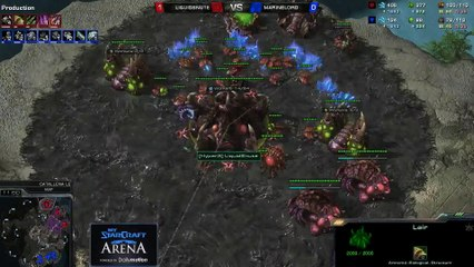 MarineLord (T) vs. Snute(Z) - MyStarCraft Arena #3 powered by Dailymotion StarCraft II Heart of the Swarm