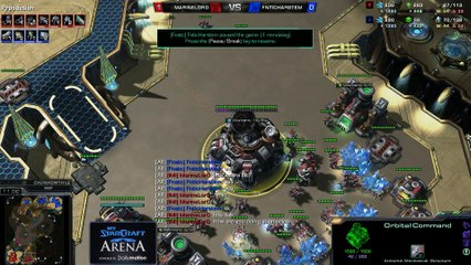 MarineLord (T) vs. Harstem (P) - MyStarCraft Arena #3 powered by Dailymotion StarCraft II Heart of the Swarm
