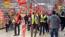 Auchan Le Pontet : 200 employés en grève