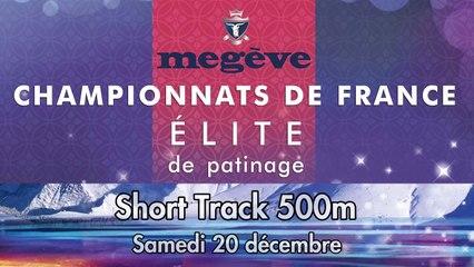 Replay - Elite Megève 2014 - Short Track 500m