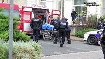 VIDEO. Joué-lès-Tours : l'arrivée des secours après l'agression au commissariat