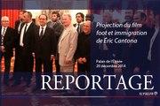 """[REPORTAGE] Projection du film """"Foot et immigration"""" d'Éric Cantona"""