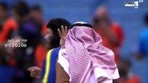 لقطه كحيلان يطالب ( الفريق النصراوي  بخمسه اهدف ) على الشباب  : تعليق عامر عبدالله