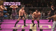Kohei Sato, Katsuhiko Nakajima & Takuma Sano vs. Takashi Sugiura, Daisuke Sekimoto & Shiro Koshinaka (Fortune Dream)