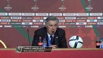 CdM des Clubs - Sergio Ramos félicité par Ancelotti