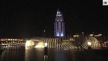The Dubai Fountain, Downtown Dubai Burj Khalifa New Year Celebration 2015 Latest