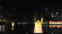 New Year's Eve in Downtown Dubai 2015 Burj Khalifa Fire Works HD Video