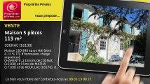 A vendre - maison - COGNAC (16100) - 5 pièces - 119m²