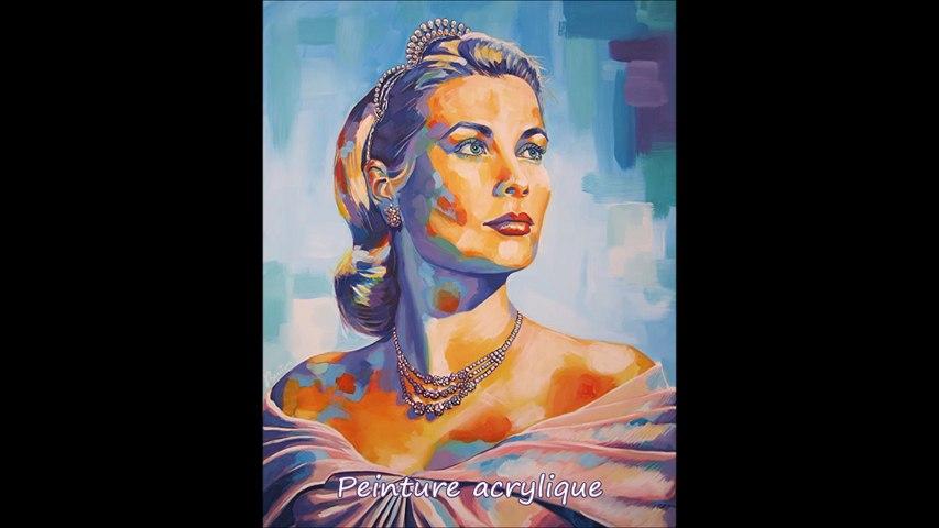 Grace Kelly par l'artiste Olivier Boutin