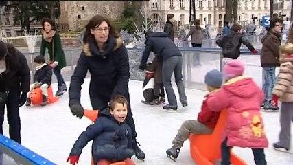 Les patinoires extérieures à Nantes et Angers