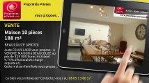A vendre - maison - BEAUCOUZE (49070) - 10 pièces - 188m²