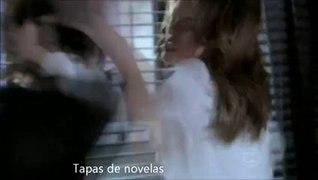 Amor a Vida Paloma da uma surra em Aline Paloma da um tapa n