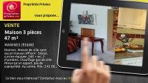 A vendre - maison - MARINES (95640) - 3 pièces - 47m²