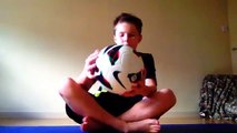 Football Tricks - How To Do Kick Ups And Big Toe Little Toe - Easy Tutoral