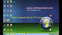 How to Upload Files To FTP Server in Urdu and Hindi using File Zilla