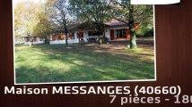 A vendre - Maison/Villa - MESSANGES (40660) - 7 pièces - 180m²