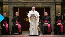 Pope Says Vatican Administration is Sick With Power and Greed