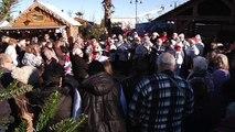Le Père Noël est arrivé au Barcarès