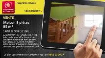 A vendre - maison - SAINT DIZIER (52100) - 5 pièces - 85m²