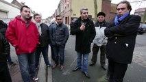 La colère des commerçants et des riverains rue de Lannoy à Roubaix.