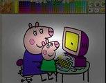 Peppa Pig en Español dibujos animados Peppa pig juego Peppa Cerdita Game Play