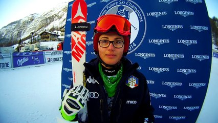 Longines Future Ski Champions 2014 - Intervista a Carlotta Saracco