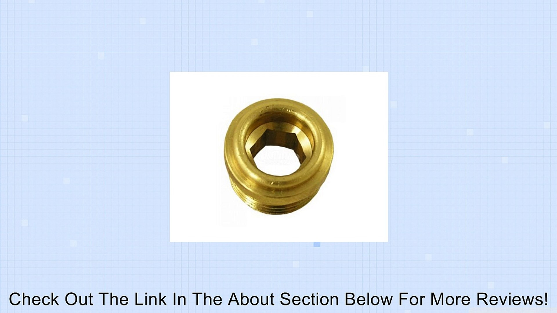 T&S Brass 000763-20 Removable Brass Seat for B-1100 Review