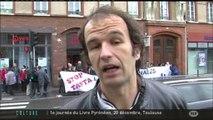 Toulouse : Mobilisation de Stop Tafta 31 devant Veolia