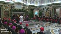 Le pape épingle la curie dans un discours d'une rare sévérité