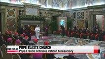 Pope Francis criticizes Vatican bureaucracy