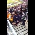 Baston de Nachos au fromage entre fans de NFL : Jets contre Patriots!