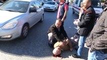 Antalya Otomobilin Çarptığı Yayanın Takma Dişleri Fırladı
