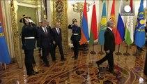 La situation en Asie Centrale inquiète Poutine