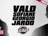 Vald en freestyle avec Sofiane, Georgio & Jarod dans Planète Rap