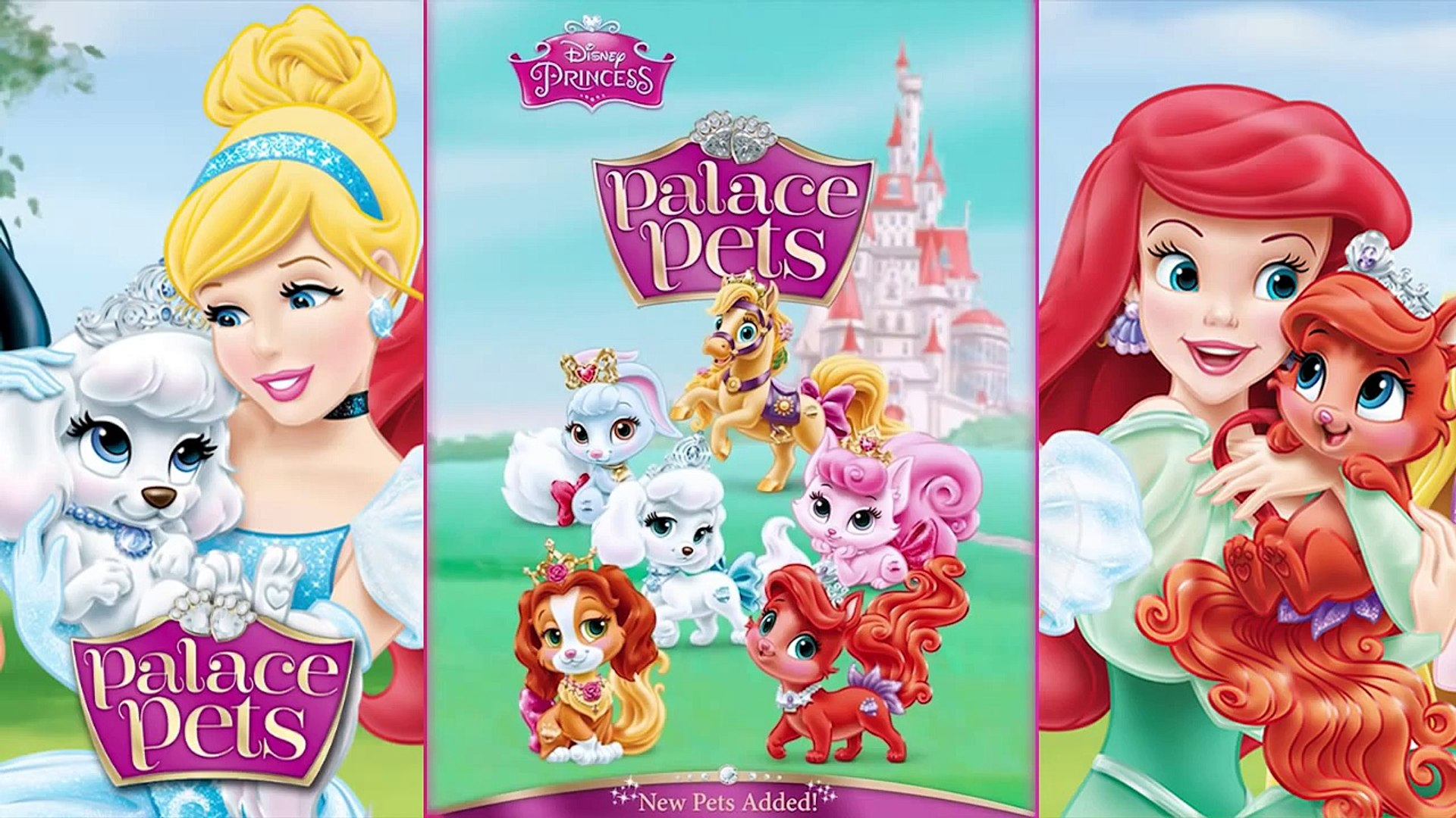 ♥ Disney Princess Palace Pets - Jasmine & Lapis NEW PET (Princess Palace Pets Game for Children)
