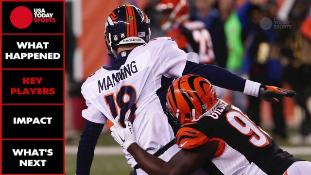 Broncos, Manning look to keep hopes of bye alive