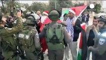 Παλαιστίνη: Συγκρούσεις των ισραηλινών δυνάμεων με τον... Άγιο Βασίλη κοντά στην Βηθλεέμ
