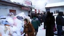 Rusya'da pazar yerinde yangın: 8 alışveriş dükkanı kül oldu