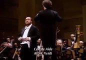 Luciano Pavarotti Celeste Aida 1980