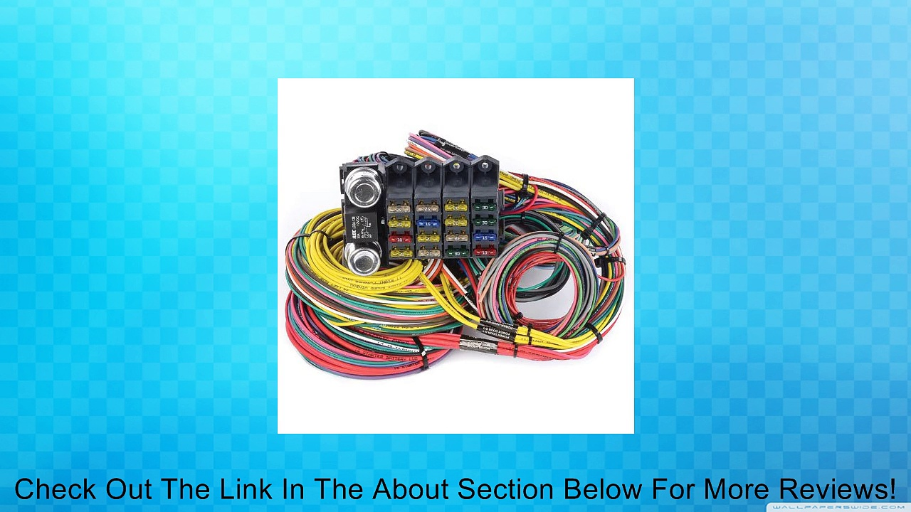 JEGS Performance Products 10405 Universal 20-Circuit Wiring Harness Review