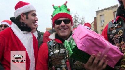 Babbi Natale in Harley portano doni ai bambini del Policlinico Umberto I