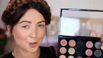 Beauty golden eye makeup, Winter Makeup Gold Eyes tutorial by Zoella