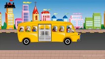 Wheels On The Bus Go Round And Round Nursery Rhymes Collection for Childrens Bab