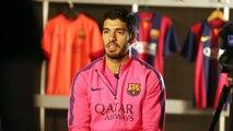 """Luis Suárez: """"Es fácil jugar junto a Messi y Neymar"""""""