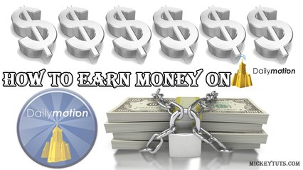 How to earn money on dailymotion class 1