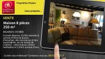 A vendre - maison - BIGANOS (33380) - 8 pièces - 250m²
